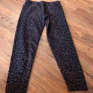 Pants - Fleece leggings size large.